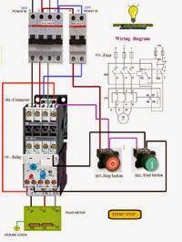 Electrical diagrams: Estart estop