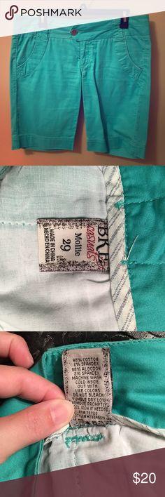 Seagreen Bke casual shorts. See tag. BKE Shorts Bermudas