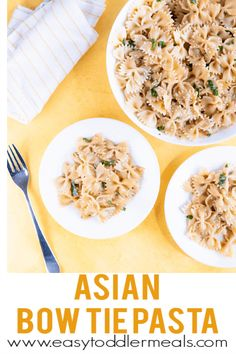 15 minutes is all you need for this flavorful asian pasta salad. It's perfect for lunch, dinner, or a main course in a lunch box! Easy Pasta Salad Recipe, Pasta Recipes, Baby Recipes, Asian Pasta Salads, Easy Toddler Meals, Toddler Food, Veggie Patties, Potluck Dishes, Pasta Dishes