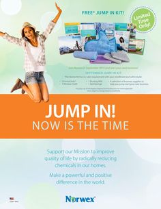 Join Norwex Risk Fre