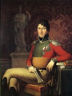 Prince Christian Fredrik (1786-1848)of Denmark-Norway. King of Norway for three months in 1814.