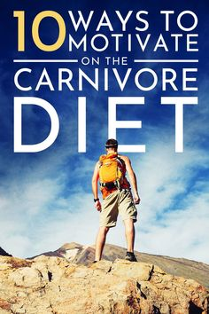 Everyone could use a little motivation, especially when it comes to diet.  That's why we dropped our tips and tricks to stay motivated on a carnivore diet.  These tips are specific to an all meat diet so that you can keep on track.  They have been taken from some of the top carnivore diet advocates out there. #carnivorediet #lowcarb #keto #ketosis #diet #weightloss #healthyfats #highfat #dietplan #motivation #dietplan Zero Carb Diet, No Carb Diets, Meat Diet, Lose Weight, Weight Loss, Ketosis Diet, Sleep Problems, Easy Diets, Diets For Beginners