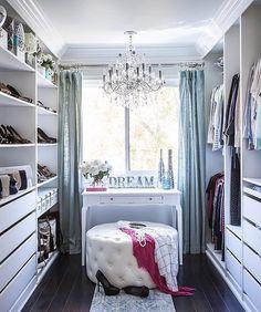 ideas for front closet makeover apartment therapy Walk In Closet Small, Front Closet, Walk In Closet Design, Closet Designs, Small Closets, Walking Closet, Master Bedroom Closet, Luxury Closet, Wardrobe Closet