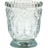 Found it at Wayfair - Vintage Glass Candle Holder