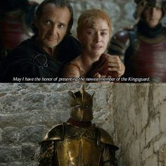 """The introduction of """"Ser Robert Strong""""... Also known as Frankenmountain.  --- After Cersei returned to the Red Keep, Qyburn was there for her. She bursted into tears, while Qyburn has a surprise for her. --- #cerseilannister #lenaheadey #qyburn #antonlesser #serrobertstrong #gregorclegane #themountain #hafthorjuliusbjornsson #gameofthrones"""