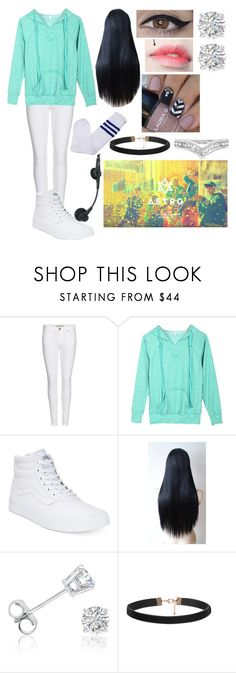 """""""(ShowChampion EP.177) ASTRO HIDE&SEEK (Girl Outfit)"""" by itsdopeaf ❤ liked on Polyvore featuring Burberry, Vans and Amanda Rose Collection"""