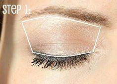 Makeup For Small Eyes {Eye Makeup Tutorial 1-2-3}