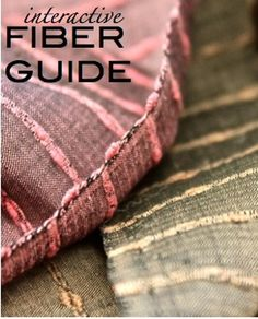 An interactive fiber guide!