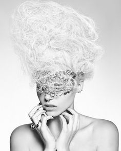 Hooker & Young 2012 British Hairdresser of the Year Finalist Bal A Versailles, Lange Blonde, Avant Garde Hair, Look At My, Rococo Fashion, Robert Frank, Hair Shows, Creative Hairstyles, Mi Long