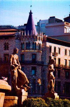 Plaza de Catalunya...