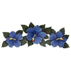 Hibiscus Flowers Ceramic Swimming Pool Mosaic x Blue) Swimming Pool Mosaics, Swimming Pools Backyard, Swimming Pool Designs, Pool Spa, Garden Pool, Blue Hibiscus, Hibiscus Flowers, Pool Mosaic Tiles, Tile Mosaics