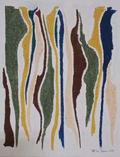 Oil pastel.  Jeff Lee Thomson.