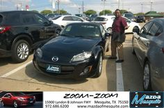 #HappyBirthday to Terrence from AJ Springer at Mazda of Mesquite!  https://deliverymaxx.com/DealerReviews.aspx?DealerCode=B979  #HappyBirthday #MazdaofMesquite