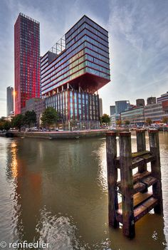 Buildings - Rotterdam, The Netherlands;  photo by renfie, via Flickr