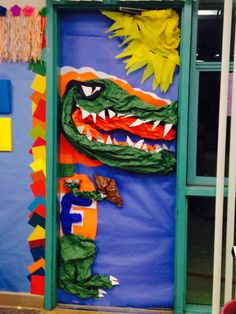 Painted for the gator themed classroom door. | Quotes | Pinterest | Classroom door School and Kindergarten & Painted for the gator themed classroom door. | Quotes | Pinterest ...