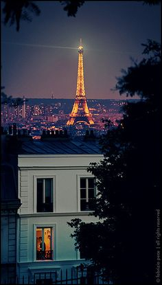 From Paris with love, This IS the city of Love!