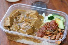 Beef Rendang from Nasi Lemak