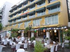 THAILAND (Bangkok) -   New Siam Riverside Hotel -  The only affordable hotel in Bangkok located on the banks of the Chao Phraya River. A delicious breakfast is served outside on the terrace and comes included in your room rate.  My favorite budget hotel in Bangkok.