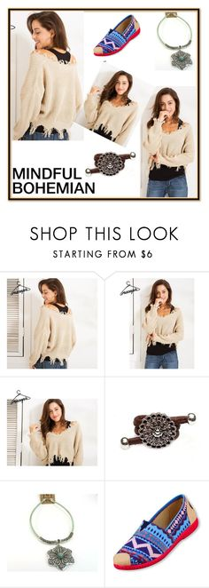 """""""MINDFUL BOHEMIAN 14"""" by emiiillly ❤ liked on Polyvore"""