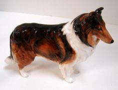 Royal Doulton Collie Dog Figurine