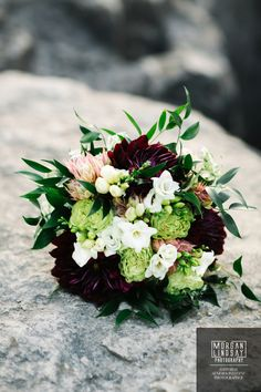 Dark purple and green wedding color scheme bridal bouquet picture Purple And Green Wedding, Dark Purple, Wedding Flower Photos, Wedding Flowers, Wedding Color Schemes, Wedding Colors, My Dream Home, Floral Wreath, Bouquet
