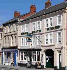 The Black Swan Hotel in Devizes, Wiltshire is a traditional Coaching Inn. Room Four is said to be haunted!