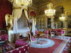 Palace, Marie, Fair Grounds, France, Room, Vintage Decor, Austria, Bedroom, Palaces