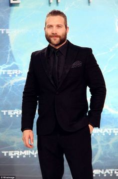 Terminating the weight: Jai Courtney has revealed that he had to pull back on bulk-building workouts and slim down to look less intimidating physically for his latest role