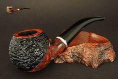 Exclusive Wooden TOBACCO  SMOKING PIPE  BRIAR  no 76  Rustic  BRUYERE  Boxed