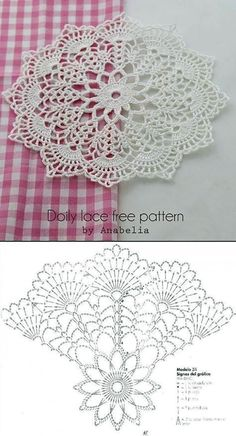 Most current Totally Free Crochet Flowers doily Suggestions Beautiful Crochet Doily♥ Deniz Free Crochet Doily Patterns, Crochet Doily Diagram, Crochet Designs, Crochet Doilies, Crochet Flowers, Free Pattern, Mandala Crochet, Crochet Ideas, Crochet Stars