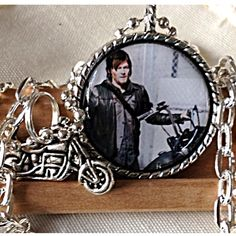 Walking Dead Daryl Dixon Motorcycle Pendant#1 from Uber Jewelry Designs for $12.99 on Square Market