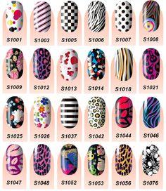 Nail Art Nail Wraps - $2!!