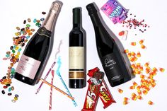 How to Pair Wine with Halloween Candy Some of Boston's most respected oenophiles showed us the best bottles to pair with everything sweet, sour, and savory.wine halloween candy