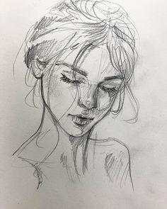 Last sketch today ✍? This 10 mnts doodle describes me so well. Last sketch today ✍? This 10 mnts doodle describes me so well. Pencil Art Drawings, Cool Drawings, Art Sketches, Disney Drawings, Sketch Drawing, Portrait Sketches, Girl Pencil Drawing, Face Sketch, Pencil Drawing Tutorials