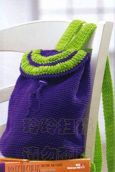 Needle-Works Butterfly: Easy Crochet Bag