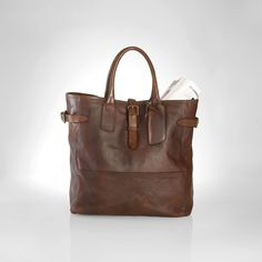 Leather Tote RL