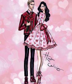 Hayden Williams: Valentine's Day Look