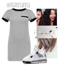"""""""Freedom~Beyoncé """" by mamiyanna on Polyvore featuring MARA and NIKE"""