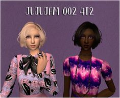 mrs_mquve | Even more requests, now featuring EPIC POLYCOUNT! Sims 2, Blouse, Hair, Tops, Women, Fashion, Moda, Fashion Styles, Blouses