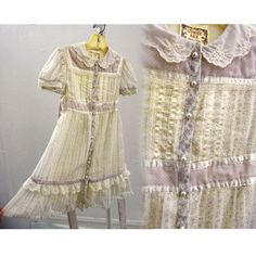 Childs Vintage 70s Gunne Sax Dress Size 5 Lavender Floral Hippie Flower Girl #fashion #clothing #shoes #accessories #vintage #childrensvintageclothing #ad (ebay link) Hippie Man, Hippie Flowers, Gunne Sax, Vintage Outfits, Vintage Clothing, Vintage 70s, Pink Blue, Lavender, Girl Outfits