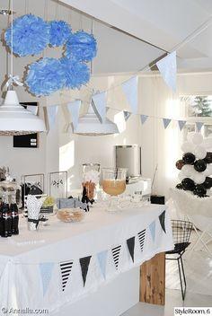lippuviiri,juhlat,juhlakattaus,juhlat olohuoneessa,ilmapallo