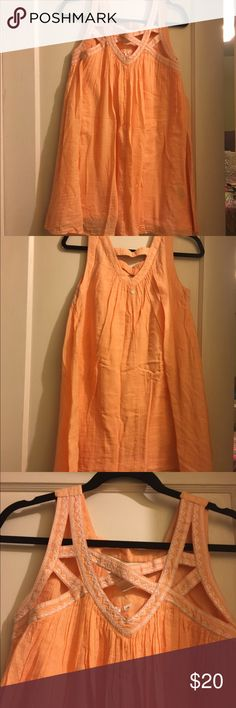 Perfect Dress for the Spring/Summer Perfect Dress for the Spring/Summer. Peach Rip Curl Sun Dress worn only one time! Rip Curl Dresses