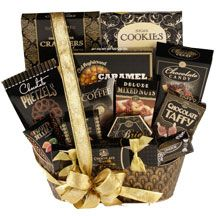 Gracious Gourmet  $90.00 Alcohol Gift Baskets, Liquor Gift Baskets, Alcohol Gifts, Goodie Basket, Fundraiser Baskets, Chocolate Toffee, Chocolate Candies, Mixed Nuts, Thanksgiving Gifts