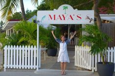 Martinique-born Maya Beuzelin Gurley—Queen of the Island—proprietor-chef and creator with her American husband, Randy Gurley, of Maya's Restaurant on the water just outside Gustavia. This is, in my opinion, the restaurant that sets the standard for everything on St. Barts.