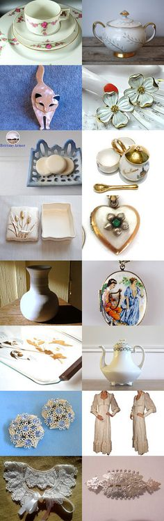 Vintage #voguet. Curator: Anat R from  https://www.etsy.com/shop/Underlyingsimplicity