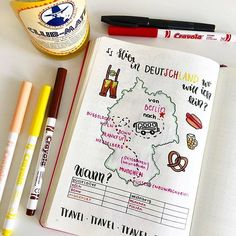 Saving this spread for the next time I travel! Love it! Check out more beautiful spreads over at @doodlesbyangie ⠀ | bullet journal addicts | bullet journal | bullet journaling | bullet journal junkie | bujo | bujo junkie | bujo junkies | planning | planner | journaling |
