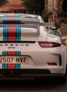 Porsche 991 GT3 Martini livery
