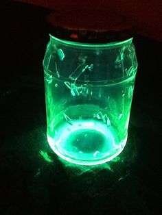 Glow Stick Jar- Awesome for homemade living room tent!