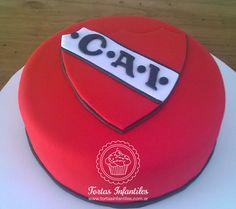 Torta con escudo de Independiente
