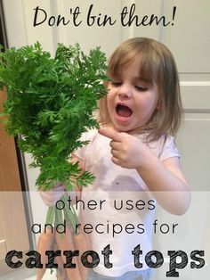 Other uses and recipes for carrot tops